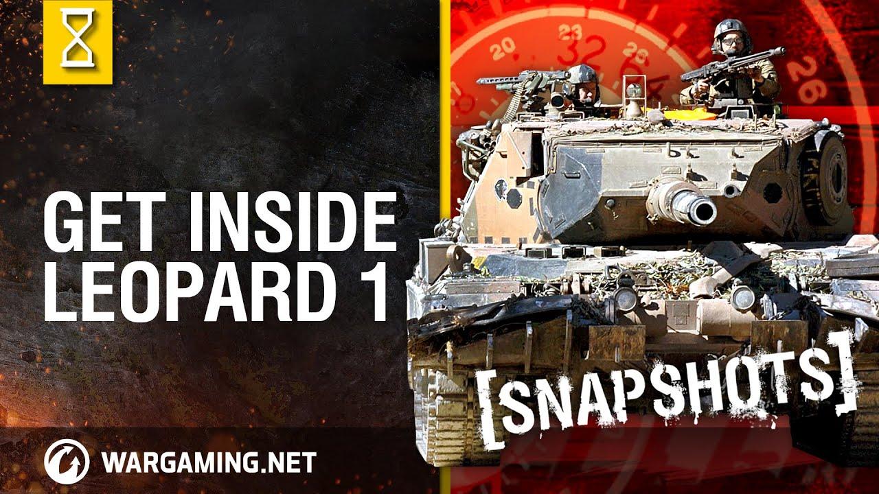 Средний немецкий танк Леопард 1 Х уровня - YouTube