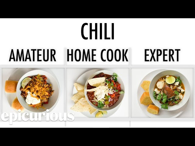 4 Levels of Chili: Amateur to Food Scientist | Epicurious thumbnail
