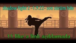 Shadow fight  1.9.22 son sürüm hile