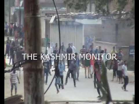 Protesters clash with security forces in Bijbehara Anantnag