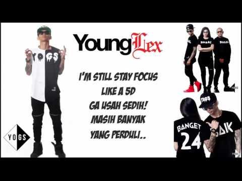 Young Lex Senyumin Aja (KARAOKE) Lyric