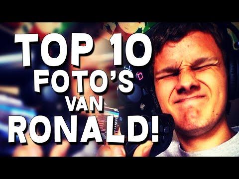 TOP 10 FOTOS VAN RONALD!!!