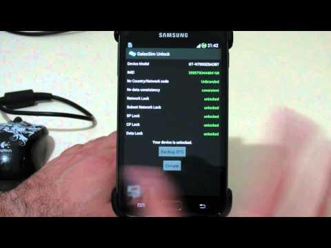 Sim Unlock Galaxy Note. Note 2. SII y SIII - GalaxSim Unlock