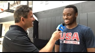 Mustapha Heron talks playing in Pan Am Games, changes at St John's