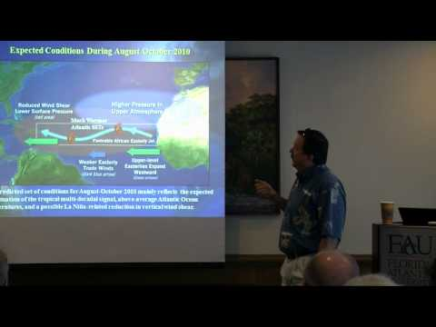 2010 Hurricane Outlook - Howard P. Hanson, Ph.D., Geosciences at FAU