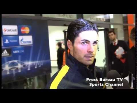 Mikel Arteta reaction to Arsenal vs Bayern Munich