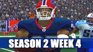 ESPN NFL 2K5 BILLS FRANCHISE - PRIMETIME FOOTBALL - VS TITANS (S2W4)