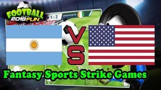 ''FUNNY GAME'' Football Fun 2019 - Fantasy Sports Strike Games Android Gameplay