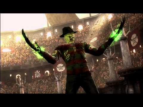 Mortal Kombat 9 - Freddy Krueger And Retro Cyber Sub-Zero Ending Music Videos