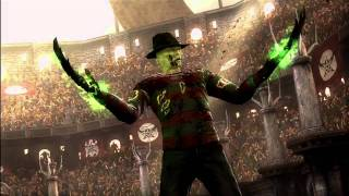 Mortal Kombat 9 - Freddy Krueger And Retro Cyber Sub-Zero Ending