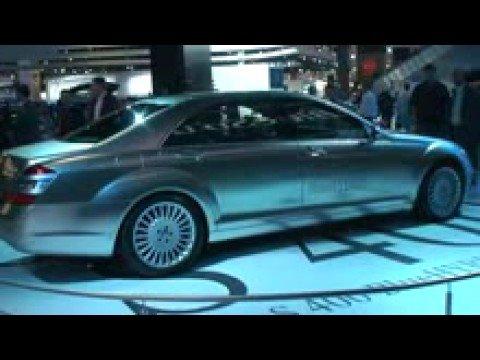 Mercedes S400 Blue HYBRID