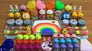 RainBow Slime | Mixing Too Many Things into Slime | Satisfying Slime Videos