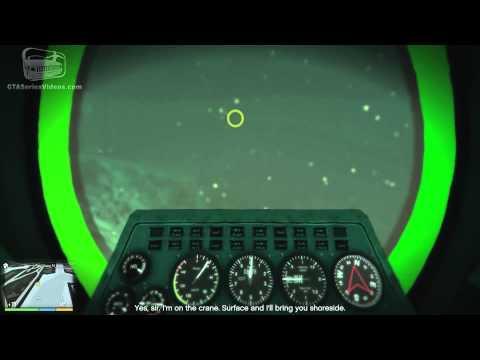 GTA 5   Mission 29   Minisub PS4