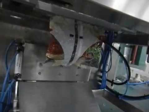 Вертикальный упаковочный автомат ВХ-620 с функциями вакуумирования и газонаполнения