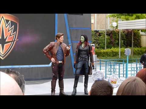 Marvel Summer of... Guardians of the Galaxy dance off @ Walt Disney Studios Paris 06/2018 DLRP