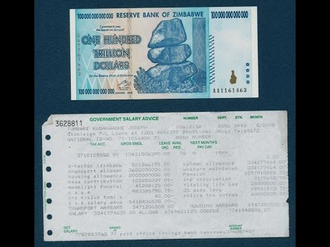 Zimbabwe Dollar, Iraqi Dinar, Vietnamese Dong, Stock Market, Oil, Gold, Silver, Quantitative Easing