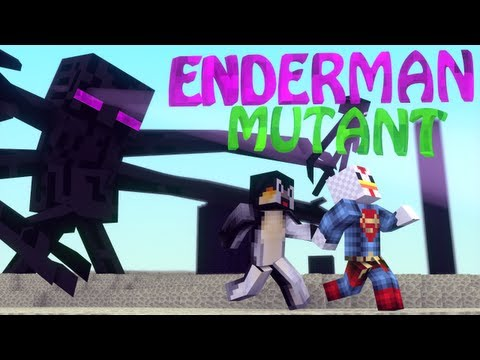 Enderman Mod: Minecraft Mutant Enderman Mod Showcase!