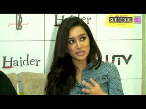 Haider Music On Air at 98 3 Radio Mirchi With Shahid, Shraddha & Vishal Part 2