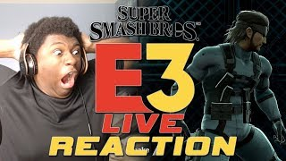 Super Smash Bros. Ultimate Reveal Trailer Live Reaction | Nintendo E3 2018