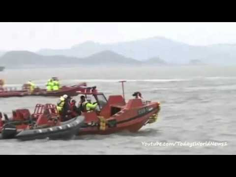 South Korea ferry: Three bodies recovered from vessel