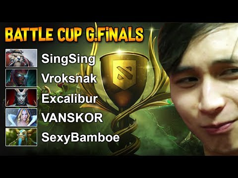 BATTLE CUP GRAND FINALS ◄ SingSing Moments Dota 2 Stream