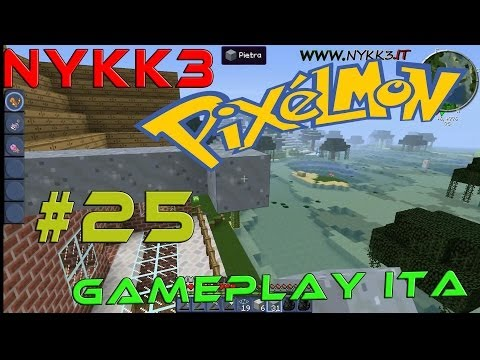 Pixelmon Minecraft – Gameplay ITA HD – Esterno Casa Finito!! #25