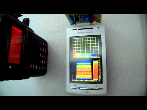 APRSDroid AFSK RX and TX on VX-8G (+Audalyzer)
