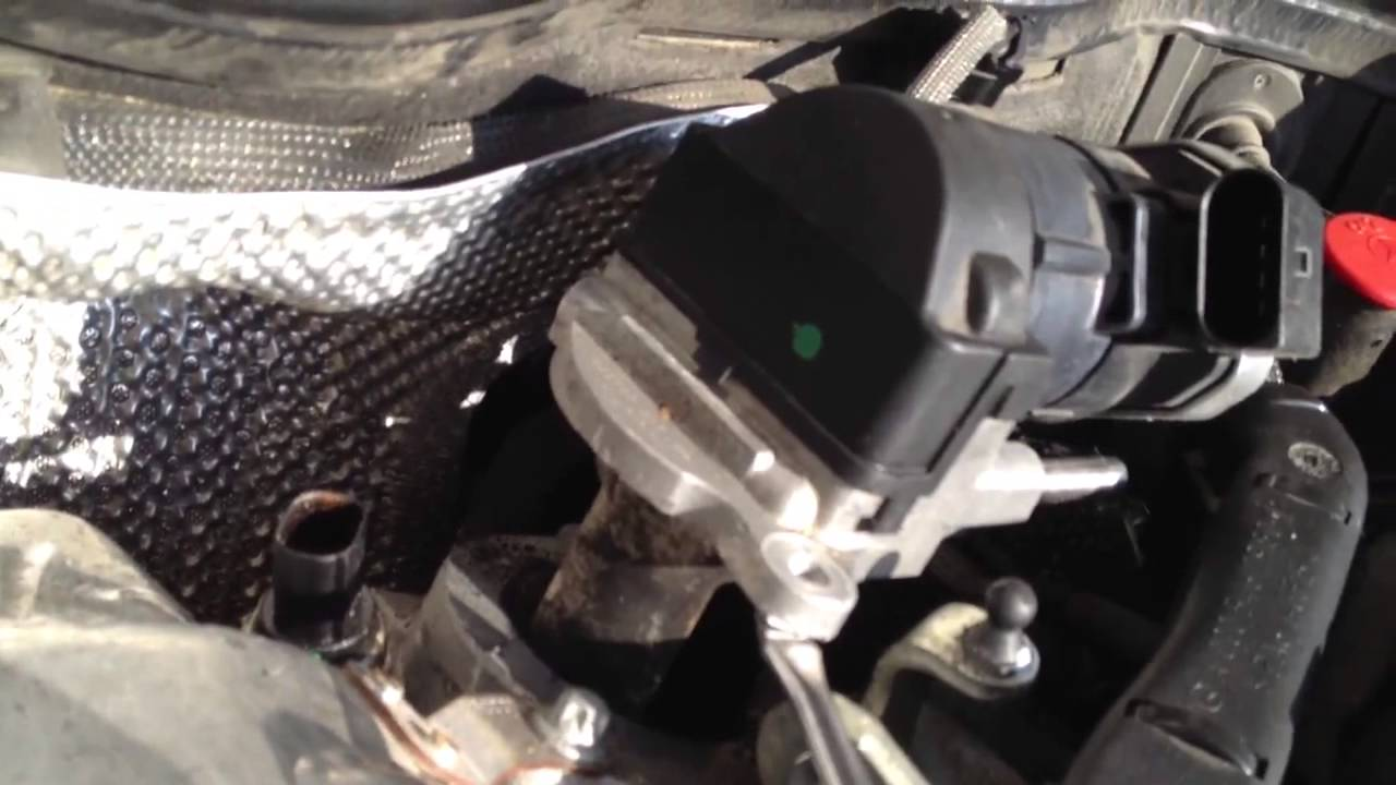 2008 Mb E320 Egr Valve Removal Pt 1 Youtube