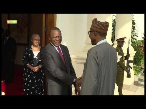 Buhari, Uhuru tighten trade ties