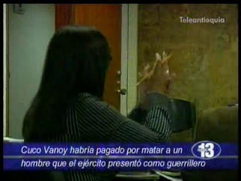 Cuco Vanoy aceptó cargos por 7 masacres