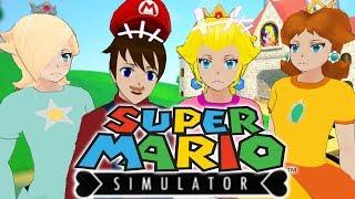 SO MANY GLITCHES!!!   Yandere Simulator Super Mario & Princess Peach Mod