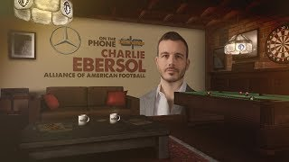 Alliance of American Football Founder Charlie Ebersol on The Dan Patrick Show | Full Interview