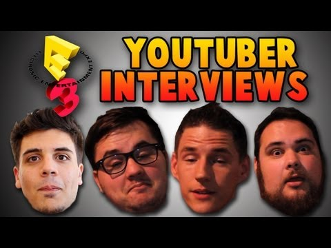 E3 YouTuber Interviews! (SUPER PROFESSIONAL)