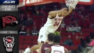 Maryland-Eastern Shore vs. NC State Condensed Game | 2018-19 ACC Basketball