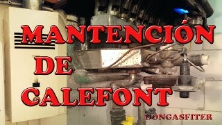 mantencion de calefont 0