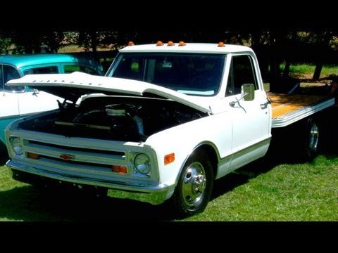 Chevy 68 Flatbed Dually Youtube