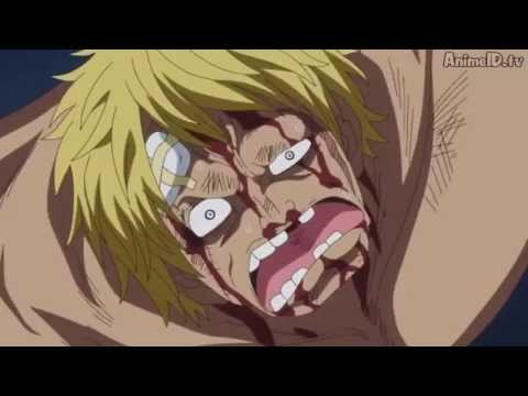 Bellamy hits Luffy - Episode 714   One Piece