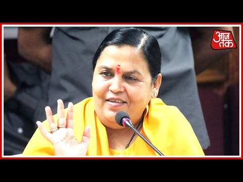 Aaj Tak Exclusive: Water Resources Minister Uma Bharti Talks On Water Crisis