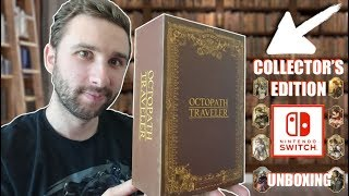 OCTOPATH TRAVELER sur NINTENDO SWITCH | COLLECTOR'S EDITION UNBOXING !