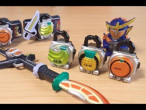【鎧武/ガイム】仮面ライダーガイム 無双セイバーと大橙丸 合体装備の巻【Kamen Rider】