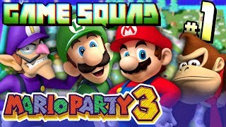 GAME SQUAD | Mario Party 3 - Woody Woods Part 1 (IT'S BACK BABY!)