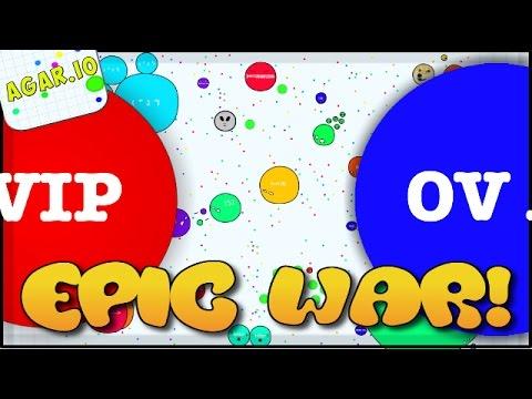 CRAZIEST CLAN WAR EVER! - AGARIO HIGH SCORE (Agar.io Gameplay)