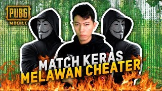BERAT LAWAN CHEATER TOP GLOBAL BIKIN EMOSI - PUBG MOBILE INDONESIA