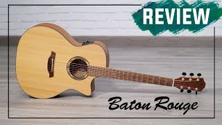 PRUEBA - Guitarra acústica Baton Rouge AR11 |  Demo | Guitarraviva