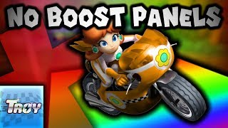 Can you beat Mario Kart Wii WITHOUT BOOST PANELS? ft. TWD98