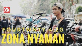 Zona Nyaman FOURTWNTY Jadi Keren Banget Di Cover Pengamen Jalanan Malang