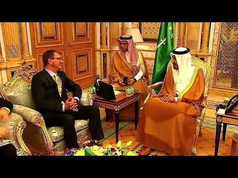 US Defence Secretary meets with Saudi King, leaves for Amman