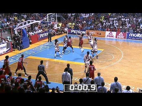 Vic Manuel hits the game winner | PBA Commissioner's Cup 2018