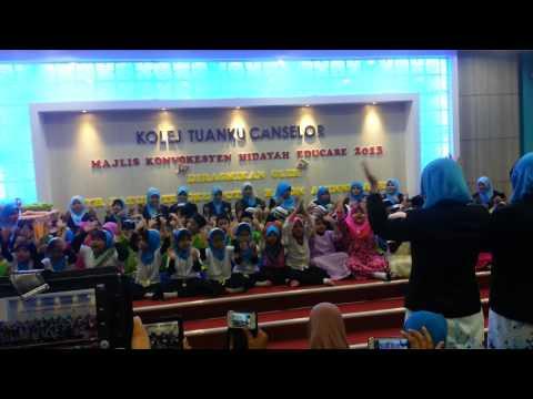 Yaa Hanana Versi Tadika Hidayah Educare Bbu video