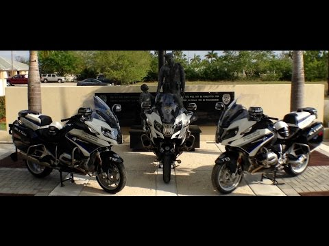Video from the Cape Coral Police Department News Briefing Unveiling the BMW Police Motorcycles